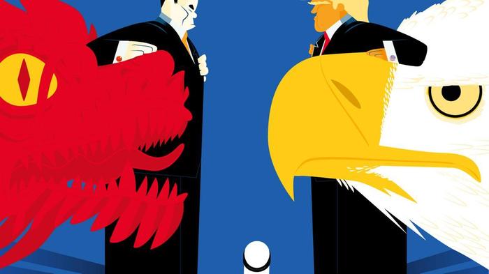 Торговая война США и Китая Политика, США, Китай, Трамп, Длиннопост