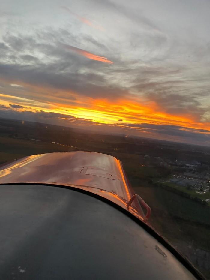 Немного красоты в ленту Авиация, Закат, Красивое, Длиннопост