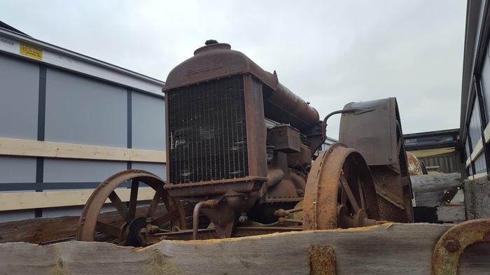 Тракторный беспредел, или весенняя страда на Сталинце Drive2, Трактор, Сталинец, Реставрация авто, Длиннопост