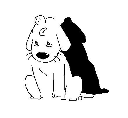 * виляет хвостом* Собака, Арт, Paint, Рисунок, Длиннопост