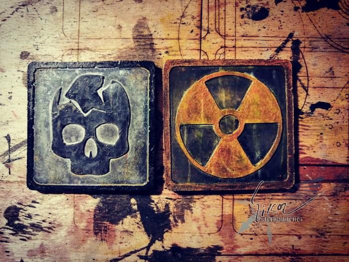 Продолжаем делать сувенирный набор эмблем. Сталкер, Stalker Call of Pripyat, Бандиты, Vk-Technogenez, Сувениры