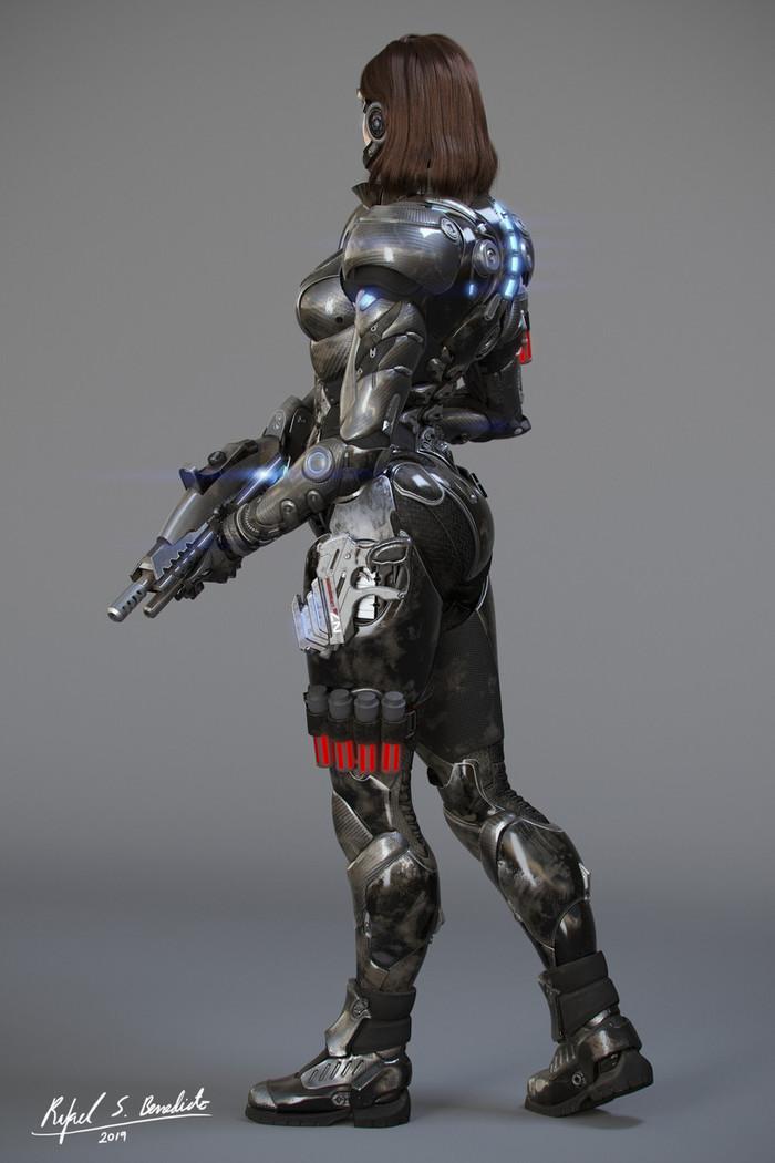Коммандер Шепард Mass Effect, Shepard, Длиннопост