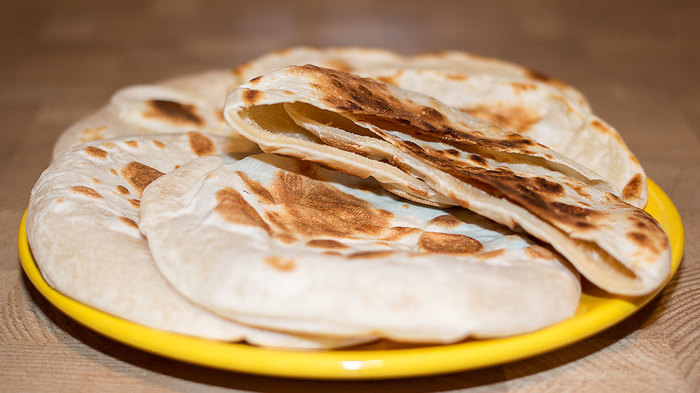 Пита – арабская лепешка без дрожжей Лепешки, Хлеб, Рецепт, Видео рецепт, Кулинария, Еда, Irinacooking, Видео, Длиннопост, Пита