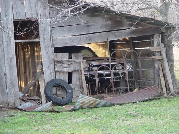 В заброшенном сарае найден Shelby GT500, который там стоял с 1971 года Muscle CAR, Shelby, Длиннопост, Техас, Авто