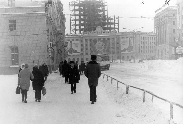 Музейные фотографии старого Норильска Норильск, Черно-Белое, Таймыр, Длиннопост