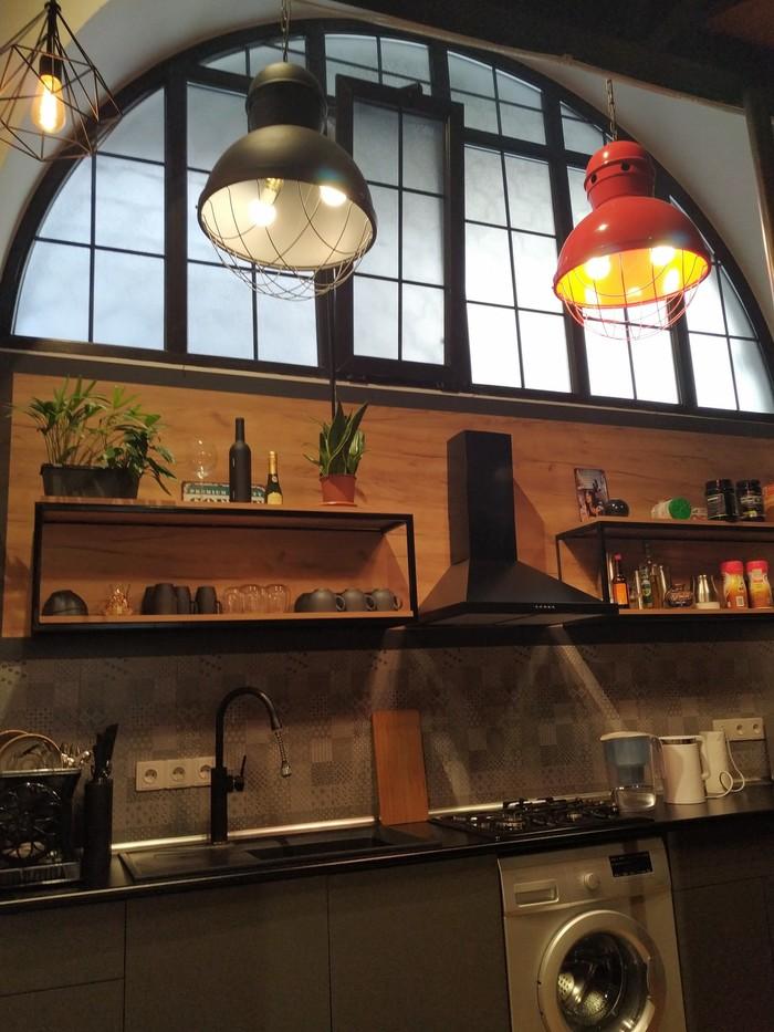 Кухня в стиле лофт Кухня, Ремонт, Лофт