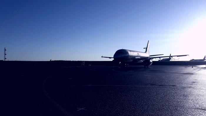 SVO II Гражданская авиация, Авиация, Аэропорт, Перрон, Длиннопост, Фотография