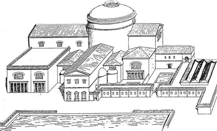 Римские термы: история возникновения и строительства. История, Древний Рим, Баня, Древний мир, Археология, Видео, Длиннопост