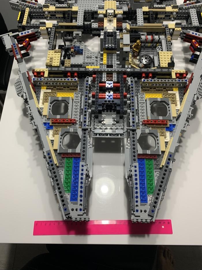 Сокол Тысячелетия 5 Тысячелетний сокол, Длиннопост, LEGO, Star Wars