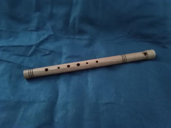 Как сделать простую свирель Своими руками, Флейта, Рукоделие с процессом, Видео, Длиннопост, Пост 1 апреля 2019 г