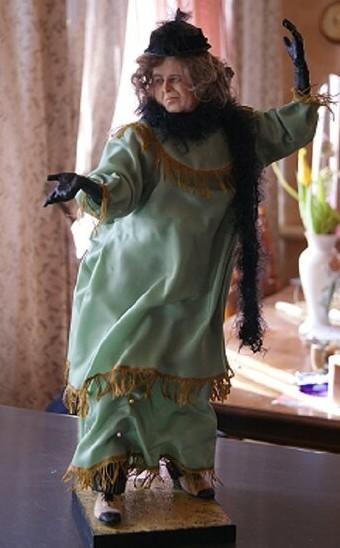 #4 портретные куклы по фильмам. Донна Роза из Бразилии. Мисс Эндрю. Тутси. Куклы ручной работы, Портретная кукла, Олег Табаков, Калягин, Тутси, Длиннопост