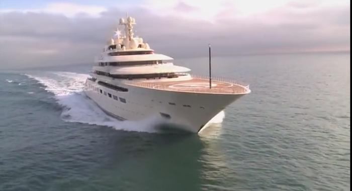 Новая яхта Алишера Усманова, средняя зарплата Россиян и 79 тысяч лет. Коррупция, Олигархи, Алишер Усманов, Длиннопост