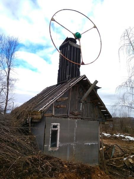 Неизвестный пепелац в Смоленске Смоленск, Архитектура, Эстетика ебеней