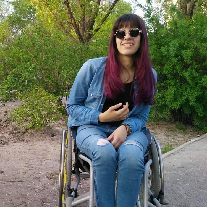 Меня зовут София и большую часть своего времени я провожу на колесах ;) Длиннопост, Инвалид, Поиск работы, Трудности, Тупые, Лси, Гифка