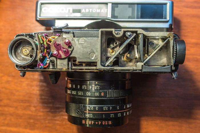 Заказ выполнен, можно забирать - 2 Фотоаппарат, Фотография, Ремонт, СССР, Техника, Ностальгия, Ретро, Хобби, Длиннопост