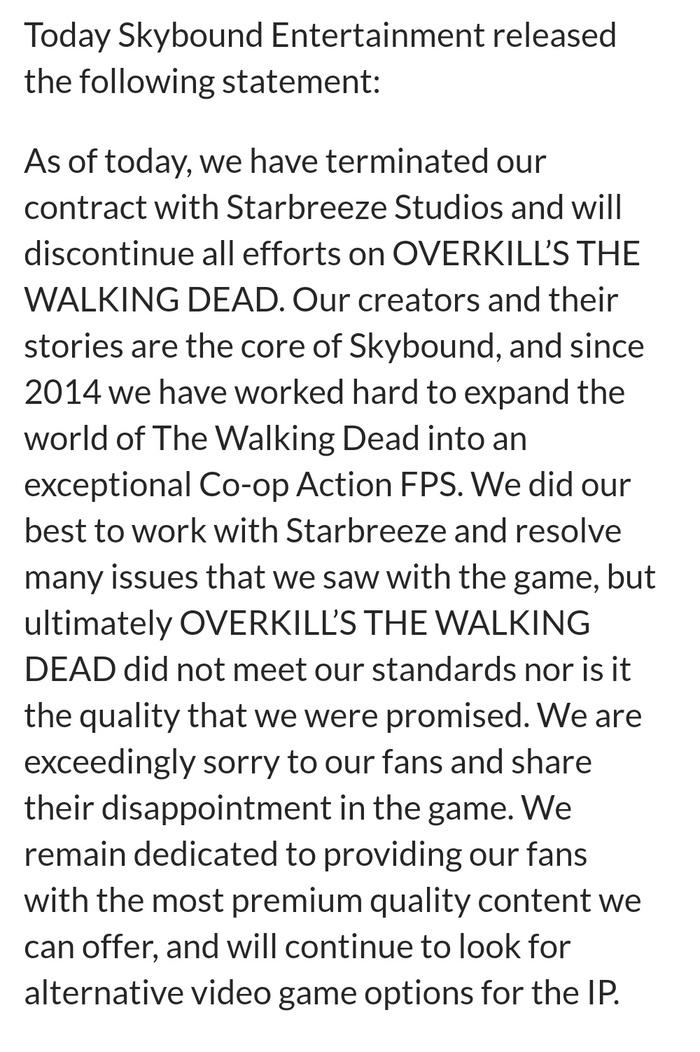 О моём небольшом противостоянии. Steam, Возврат денег, Overkills the Walking Dead, Длиннопост