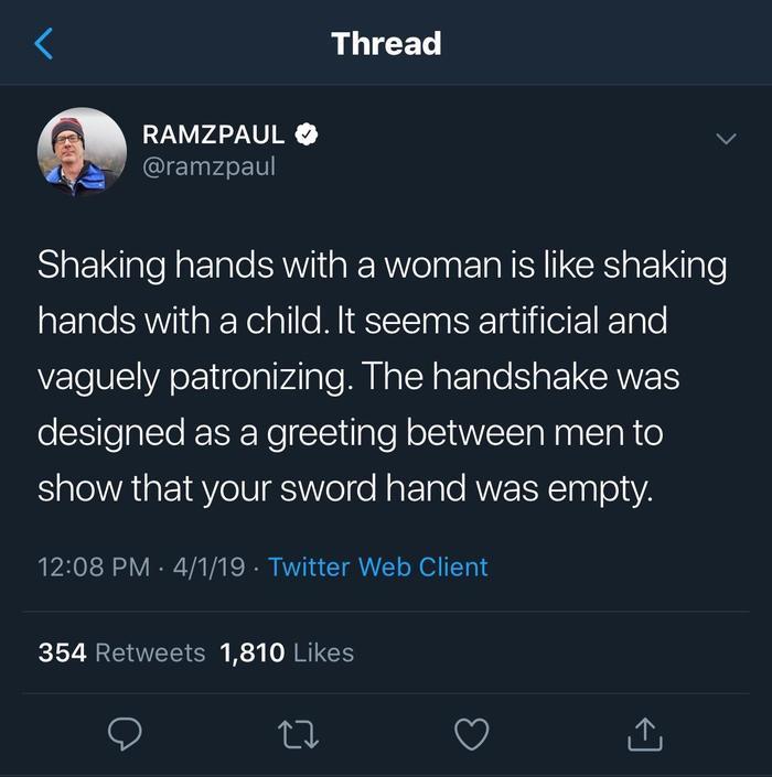 Немного бензина в костер феминизма ) Twitter, Рукопожатие, Меч, Оружие, Женщина