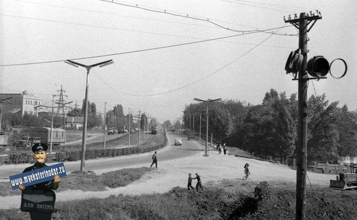 Вид на ТЭЦ, Краснодар Краснодар, Старое фото, Длиннопост