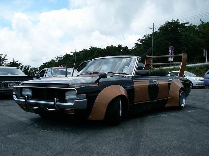 Босодзоку - беспощадный японский автотюнинг Bosozoku, Авто, Тюнинг, Япония, Длиннопост