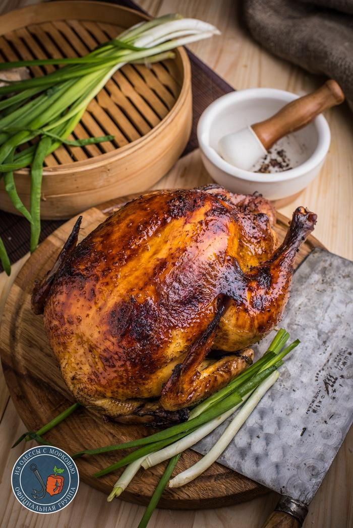 Курица в «трех стихиях». Из Одессы с морковью, Рецепт, Кулинария, Еда, Фотография, Курица, Длиннопост