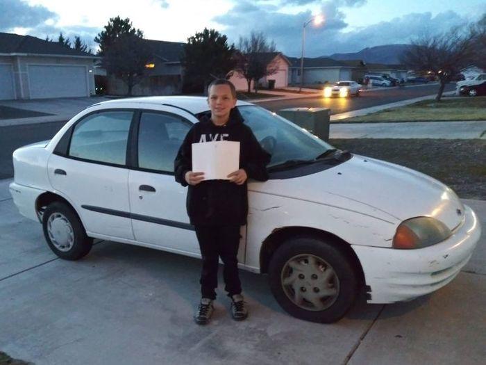 В США 13-летний пацан обменял свой Xbox на машину и подарил ее маме США, Новости, Xbox, Машина, Подарок, Доброта