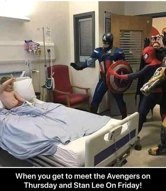 Двойная удача Черный юмор, Мстители, Стэн Ли, Marvel