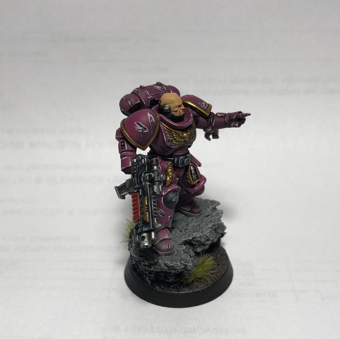 Розовомарин Warhammer 40k, Primaris Space Marines, Покраска миниатюр, Длиннопост