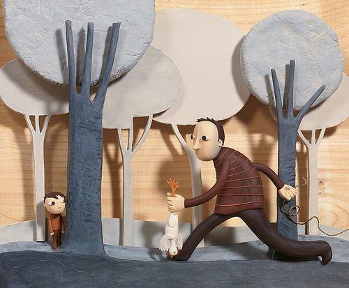 Волшебные картины из пластилина Ирмы Грюнхольц Арт, Пластилин, Глина, Скульптура, Иллюстрации, Длиннопост