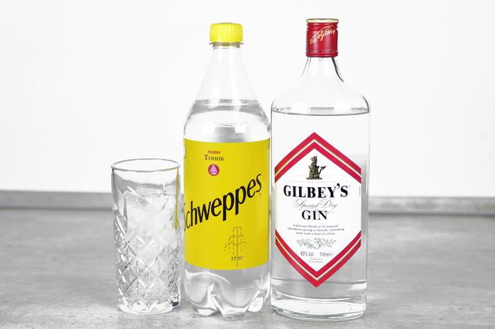 """Классический коктейль """"Джин тоник"""" Алкоголь, Коктейль, Коктейль-Лонг, Бар, Рецепт, Длиннопост, Джин-Тоник"""