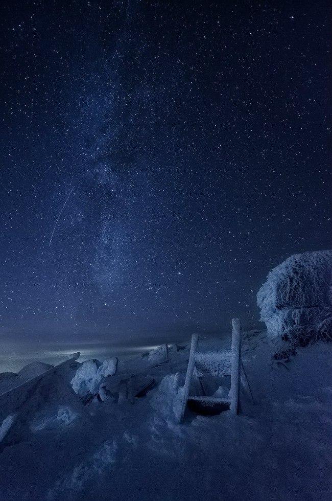 Две ступеньки до звезды... Урал, Южный Урал, Таганай, Горы, Туризм, Звездное небо, Природа, Фотография, Длиннопост