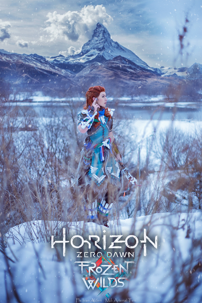 Horizon zero dawn - Aloy  (Ice hunter Banuk) Horizon Zero Dawn, Aloy, Косплей, Длиннопост