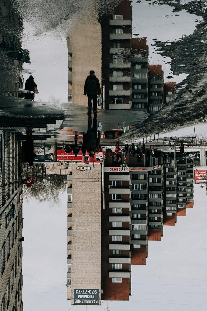 Один серый день Фотограф, Фотография, Санкт-Петербург, Отражение, Не фотошоп, Длиннопост
