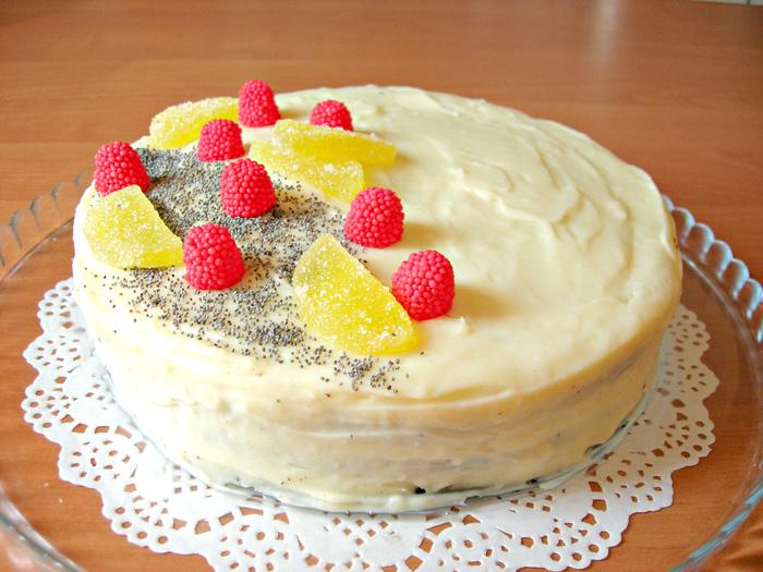 Домашний торт на День рождения, совсем несложный и очень вкусный! Торт, Рецепт, Еда, Кулинария, Видео, Длиннопост, Десерт