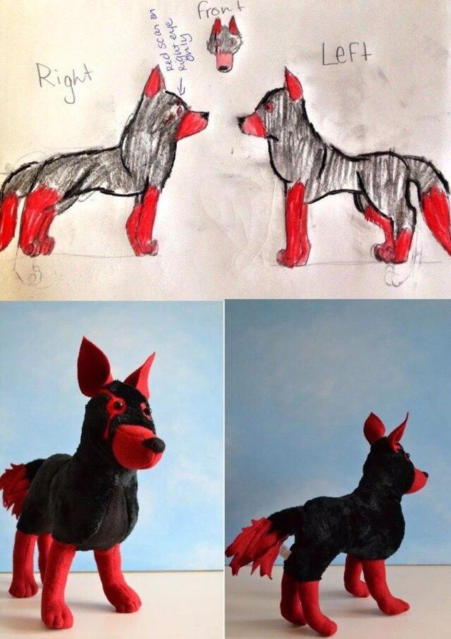 Из плохих рисунков классные игрушки Игрушки, Интересное, Фотография, Милота, Рукоделие, Длиннопост