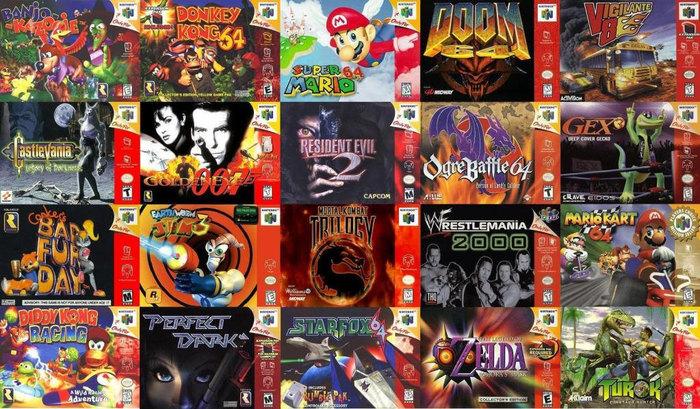 Игры Nintendo 64 иAtari Jaguar в браузере Приставки, Консольные игры, Браузерные игры, Онлайн-Игры, Nintendo, Atari, Длиннопост