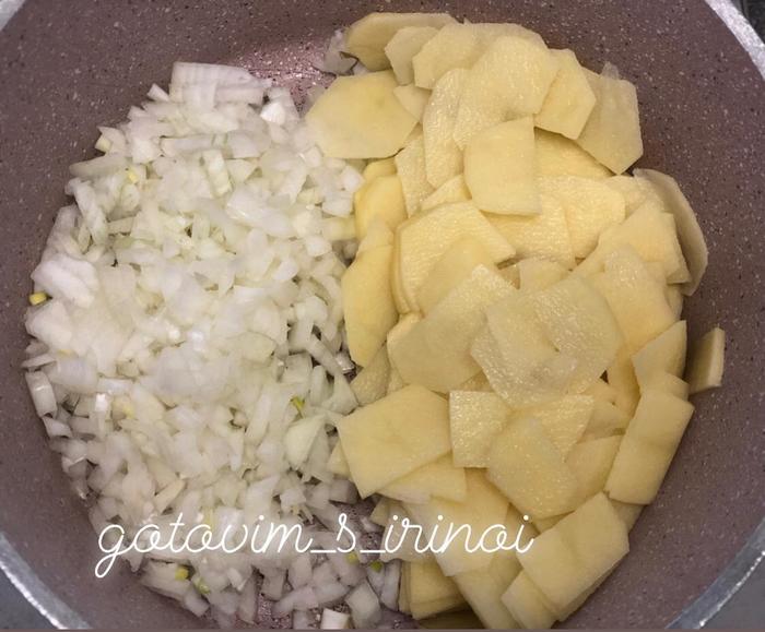 Пирог с картофелем - объедение, которое стоит того, чтобы провести на кухне 1 час времени) Длиннопост, Пирог, Рецепт, Еда