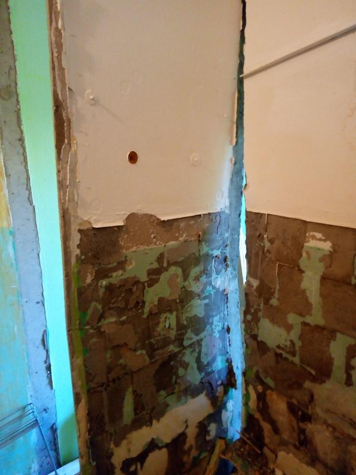 Ремонт хруща #03: Демонтажные заметки Ремонт, Хрущевка, Панельный дом, Своими руками, Длиннопост