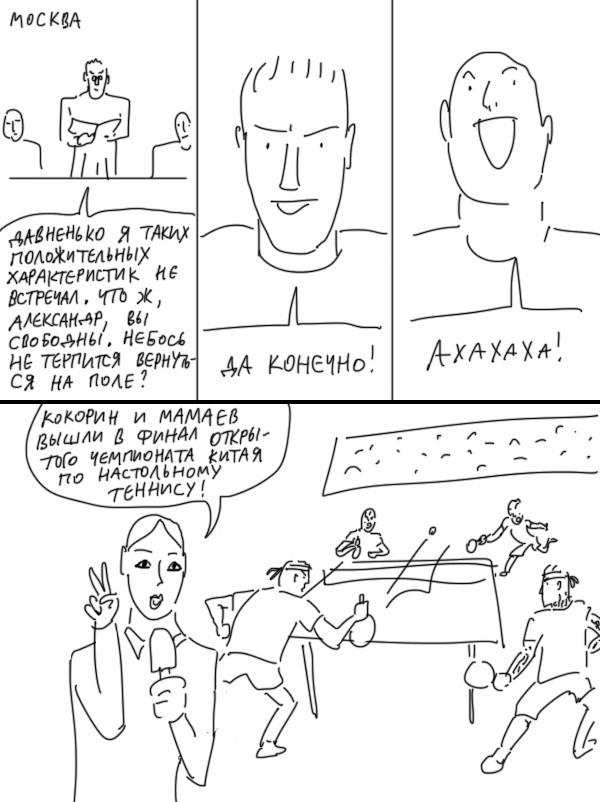 Наказание Кокорина Duran, Комиксы, Кокорин, Наказание, Длиннопост