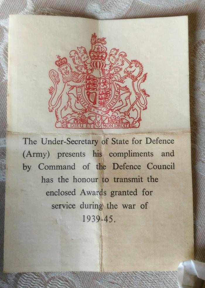 Звезда 1939-1945 (Великобритания) Великобритания, Вторая мировая война, Медали, Длиннопост