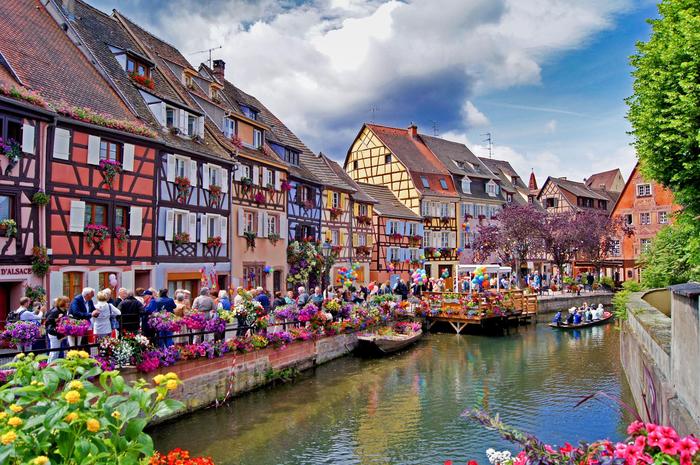 Прекрасный город Кольмар в Альзасе. Город, Путешествия, Франция, Ожидание и реальность
