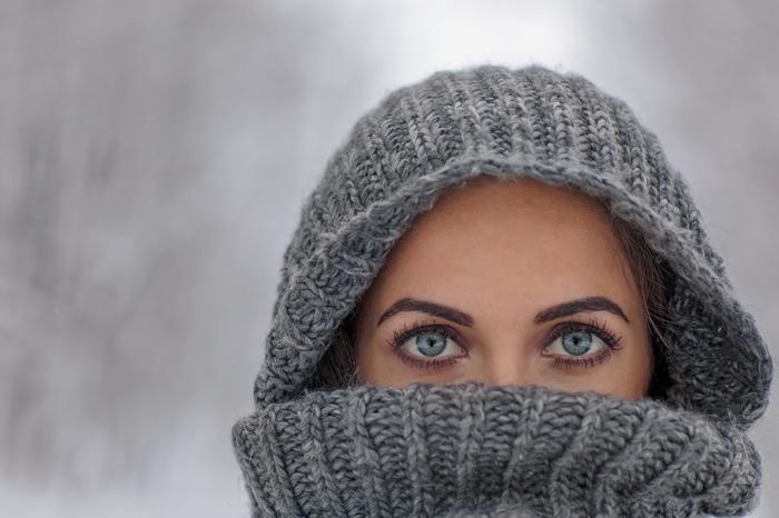Глаза зимы (портрет) Портрет, Девушки, Глаза, Фотография, Зима