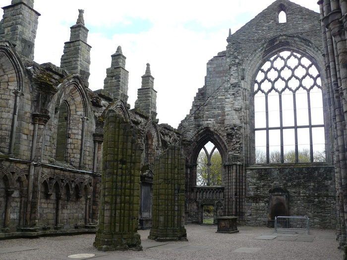 Аббатство Холируд (Эдинбург, Шотландия) Великобритания, Шотландия, Эдинбург, Длиннопост, Монастырь