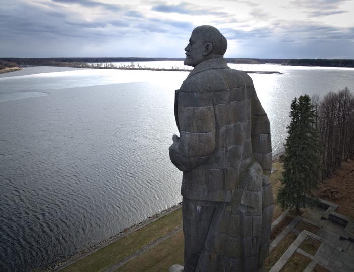Ленин Ленин, Статуя, Фотография, DJI Phantom