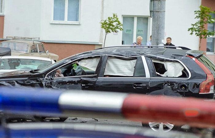В Волгограде дед на 21 Волге таранил авто чиновников администрации. Хватит, Отомстил за всех, Чиновники, Беспредел, Дед, Длиннопост