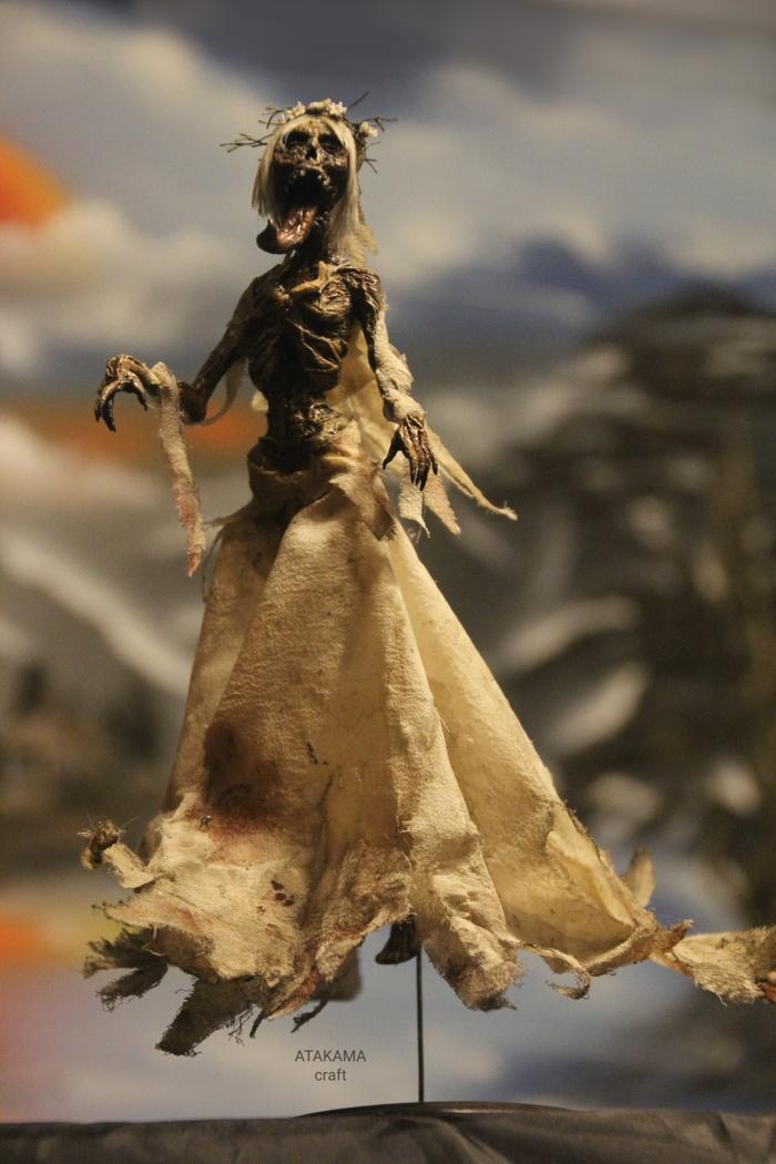 Полуденница (Ведьмак) - фигурка ручной работы Фанатское творчество, Ведьмак, Полуденница, Бестиарий, Коллекционные фигурки, Призрак, Ужасы, Длиннопост