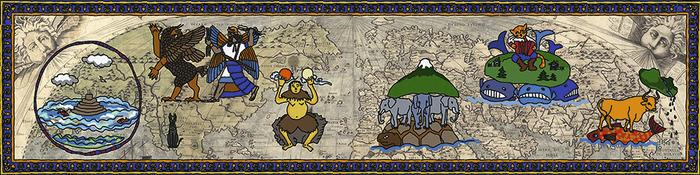 Мироздание в головах Наука, Космос, Вселенная, История, Эволюция, Копипаста, Elementy ru, Длиннопост