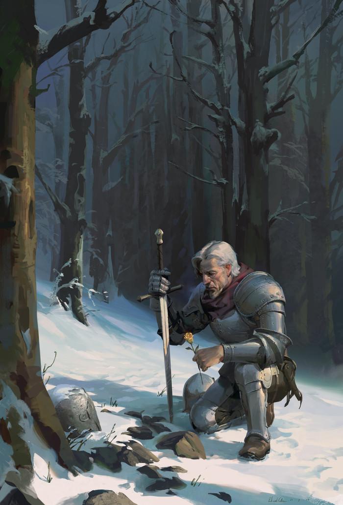 Старый друг Арт, Рыцарь, Edward Chee