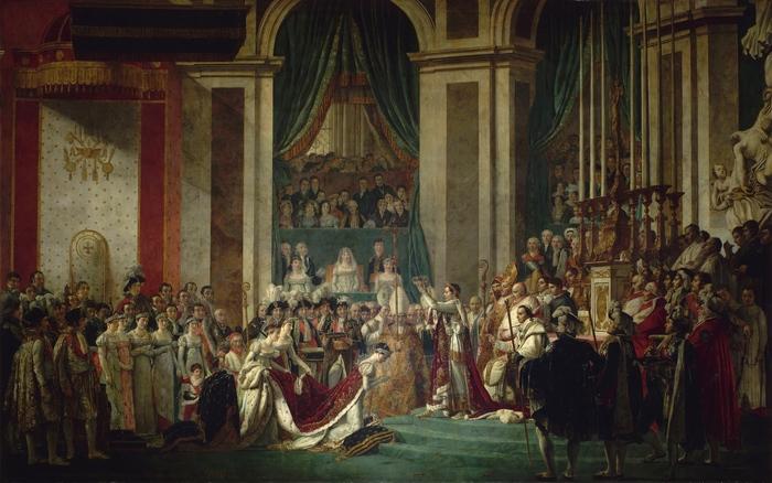 Коронация Наполеона в Соборе Парижской Богоматери Париж, Наполеон, Notre Dame De Paris