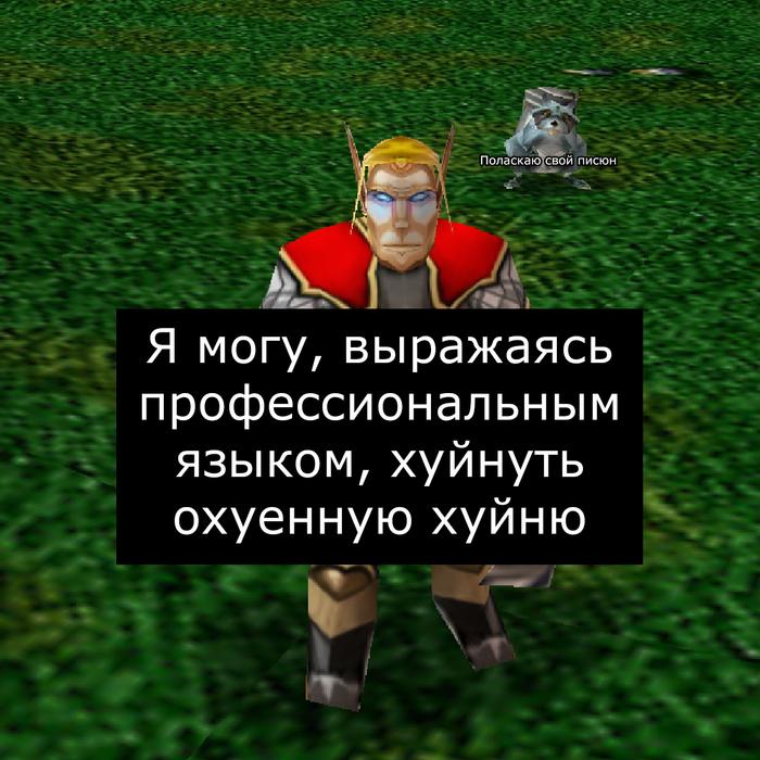 Нельзя сотворить здесь Врата Оргриммара, Игры, Компьютерные игры, Мат, Warcraft, Warcraft 3, Длиннопост