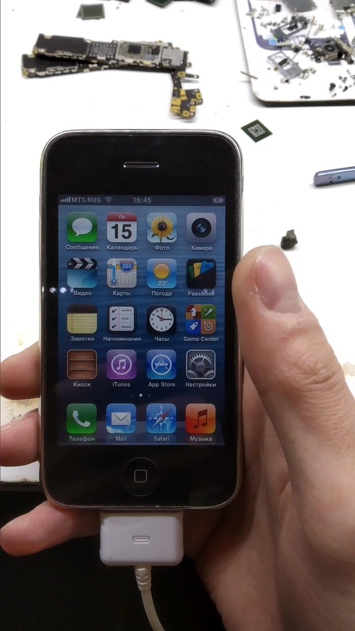 Iphone 3gs. Активация древнего Iphone 3gs, Активация, Сим-Карта, Колхоз, Ремонт техники, Пайка, Iphone, Длиннопост